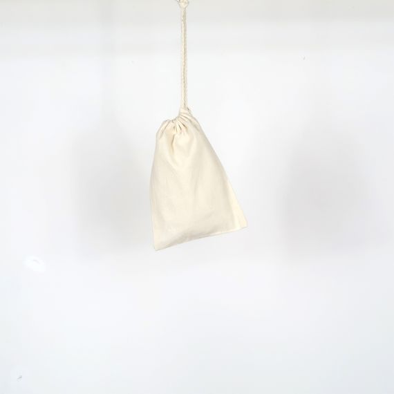 cotton blank pouch