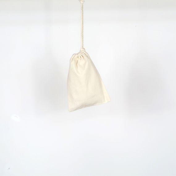 pochon vierge en coton