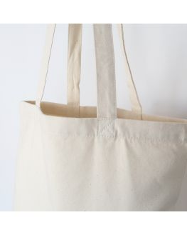 blank organic cotton tote bag