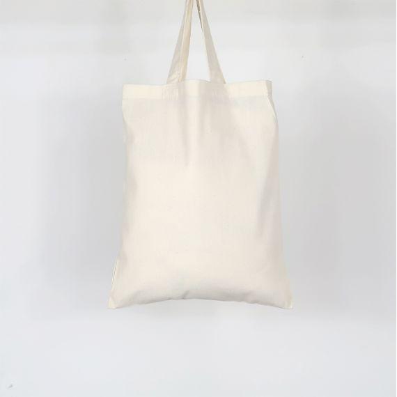 blank small tote bag