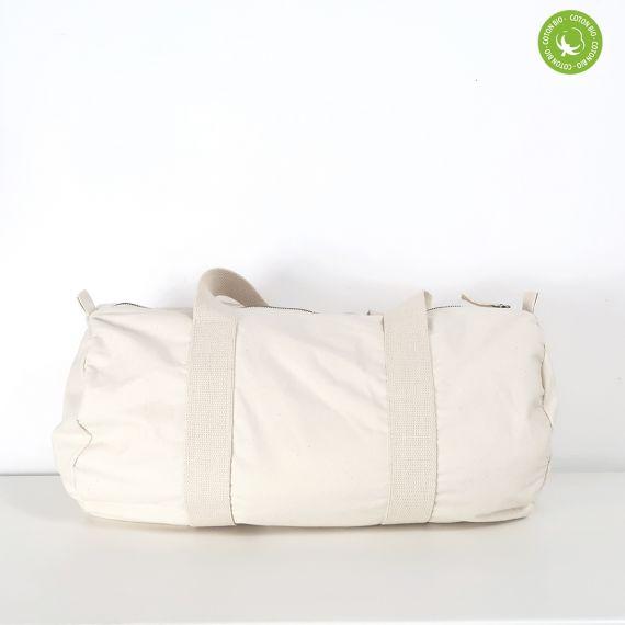 blank natural sport bag
