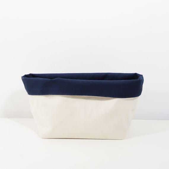 blank storage basket