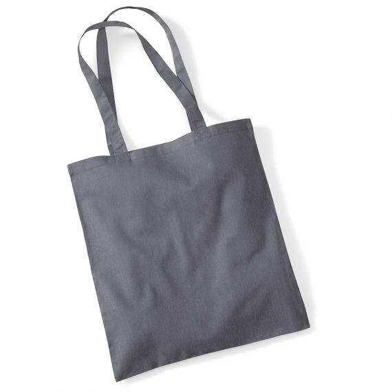 tote bag gris anthracite