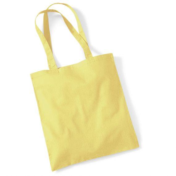 yellow customizable tote bag