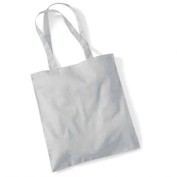 grey customizable tote bag