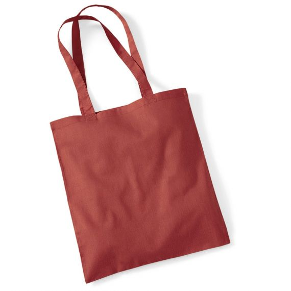 Rust Custom Tote Bag