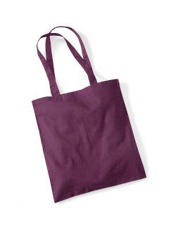 purple custom tote bag