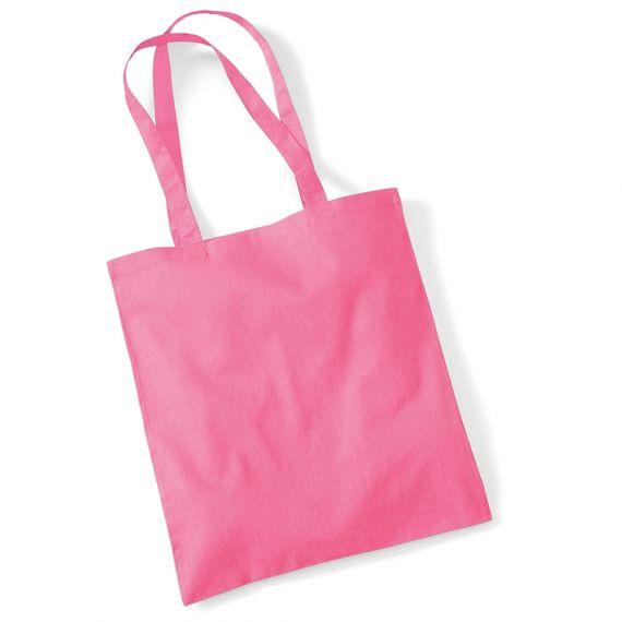 pink customizable tote bag