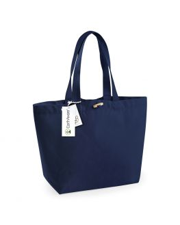 navy custom beach bag