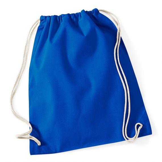 royal blue custom gym bag