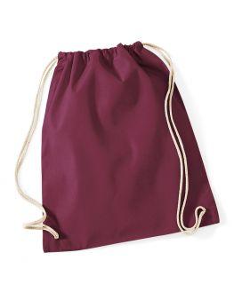 burgundycustom gym bag