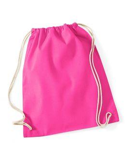 hot pink custom gym bag