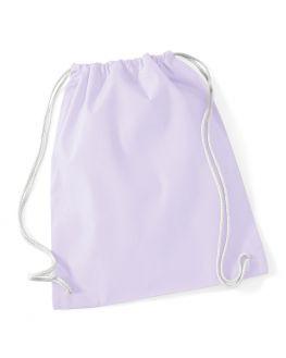light purplecustom gym bag
