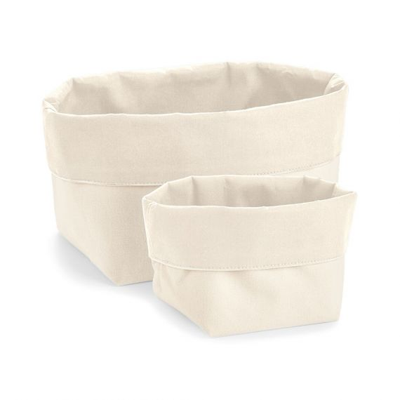 natural cotton storage basket