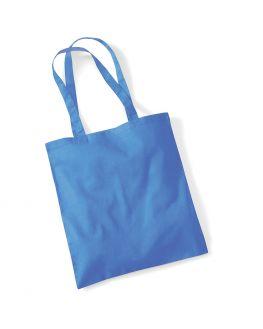 blue blank tote bag