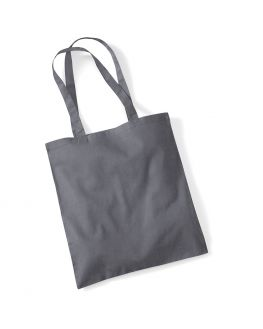 dark grey tote bag