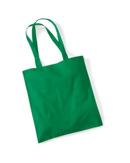 kelly green tote bag