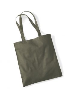 olive green tote bag