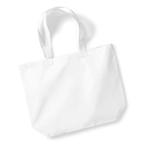 white blank shopping bag