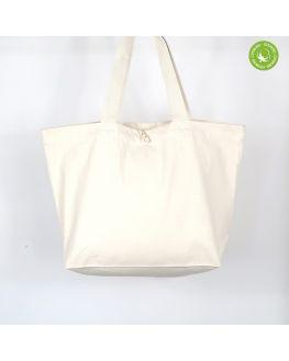blank organic carrier bag