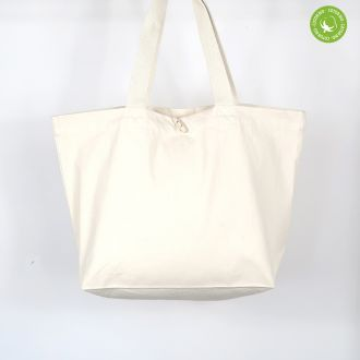 blank organic carrier bag