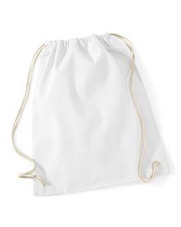 white gym bag
