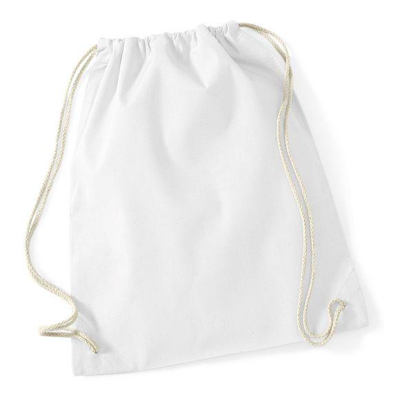 sac de gym blanc