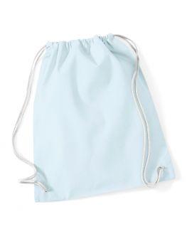 sac de gym bleu pastel