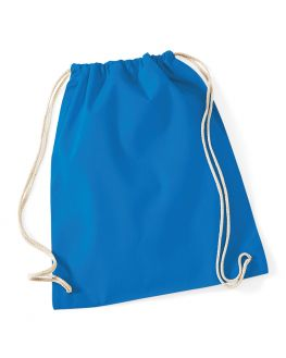 blue cotton backpack