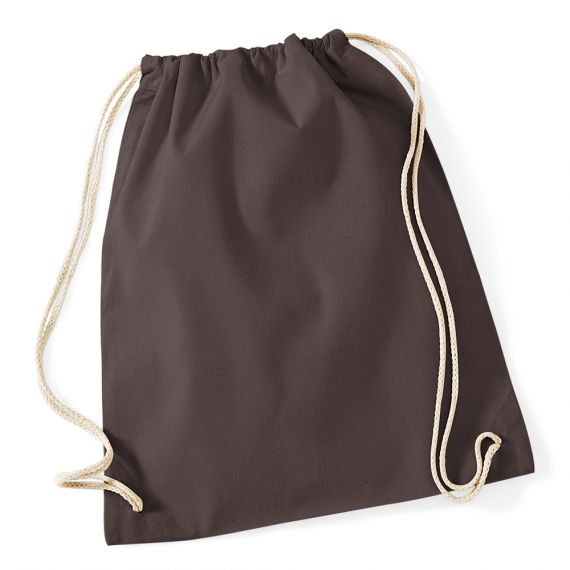 chocolate cotton backpack