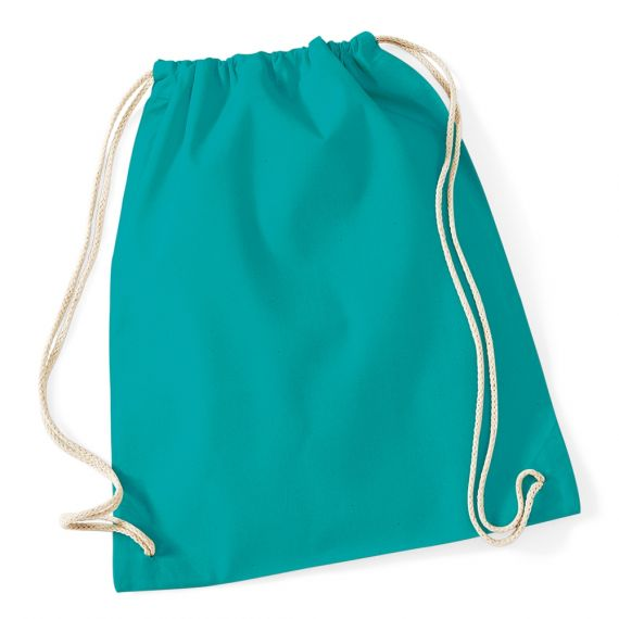 emerald gym bag