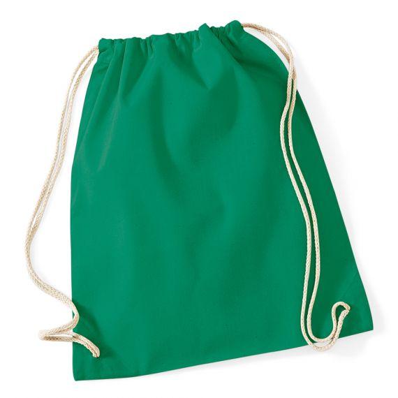 kelly green gym bag