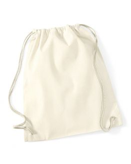 natural blank cotton backpack