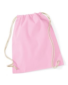 pink blank gym bag