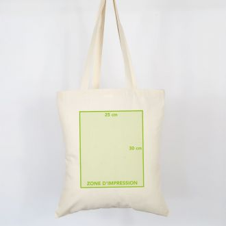 advertising organic tote bag