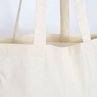 cheap blank organic cotton tote bag