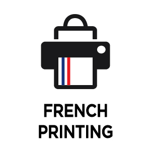 Made in France printing